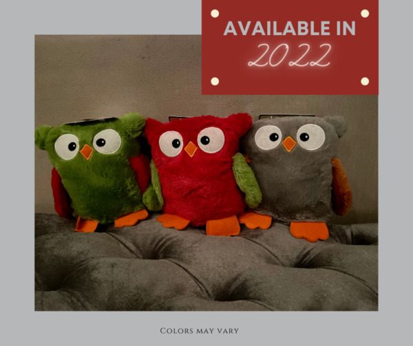 2021 - Halloween Plush Owl - Available 2022