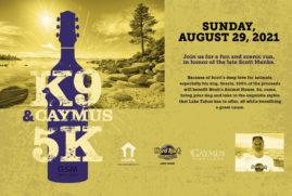 K9 and Caymus 5K in Honor of Scott Menke